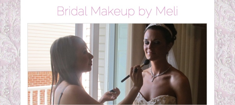 Bridal Makeup by Meli website