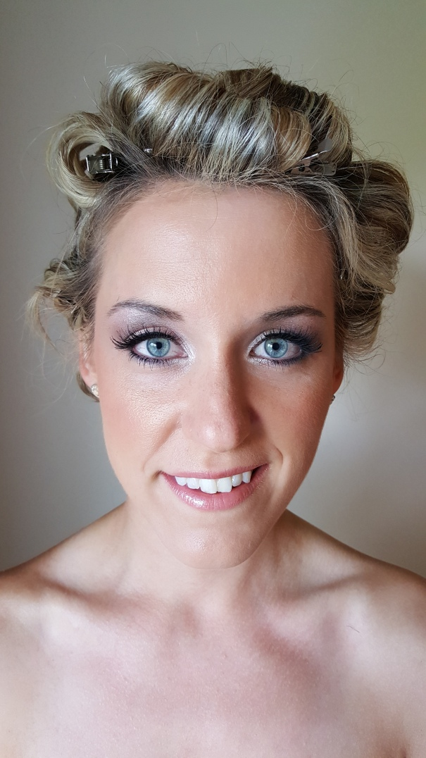Harmony's bridal makeup