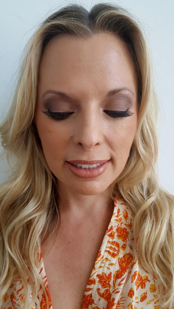 Kim's makeup for Fashion Week 2