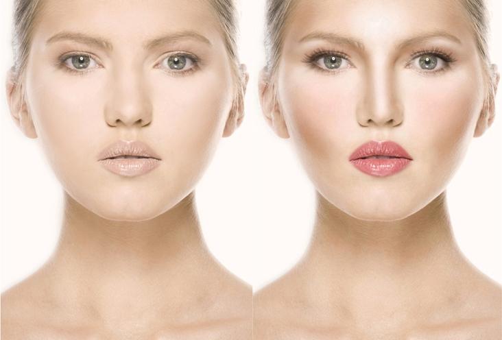 contoured-face